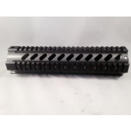 "Brushed Stainless Free float ""T"" Marked quad rail"