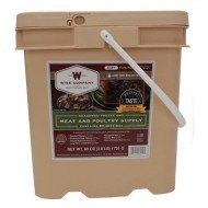 Wise Company 60 Serving Gourmet Seasoned Freeze Dried Meat