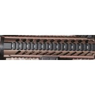 "Burnt Bronze tone Free float ""T"" Marked quad rail"