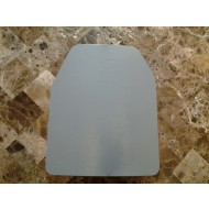 Curved 10x12 Level 3 Powdercoated Mil-Spec Certified Armor Plate