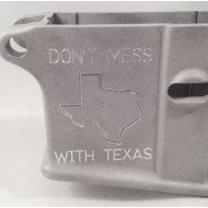Don't Mess With Texas Stripped Lower