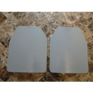 Two 10x12 Level 3 Powdercoat Mil-Spec Certified Armor Plate
